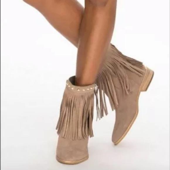 low price latest design online retailer Michael Kors Billy Fringe Ankle Boots